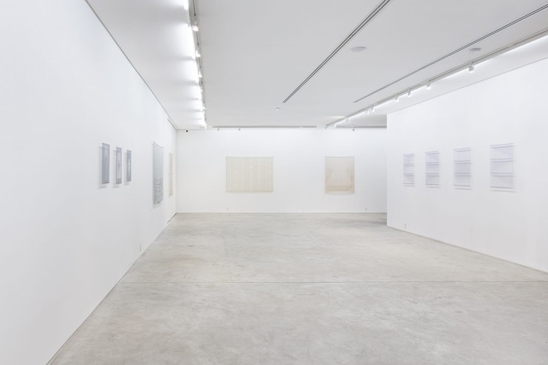 Vista da exposição 'Tecido', 2019