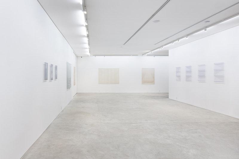 Exhibition view of 'Tecido', 2019