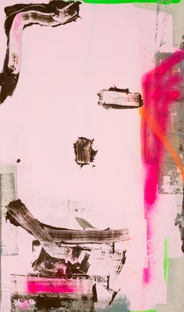 Pintura Sem Titulo (Autorretrato como pintura abstrata), 2015