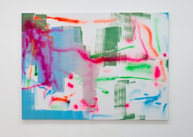 Pintura sem título (Paintbrush), 2015