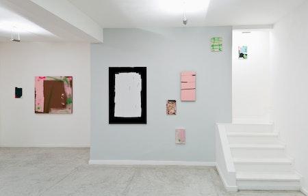 Vista da exposição 'Paintbrush', 2015