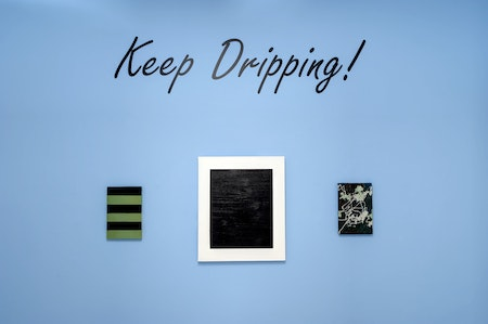 Vista da individual 'Keep Dripping', 2012