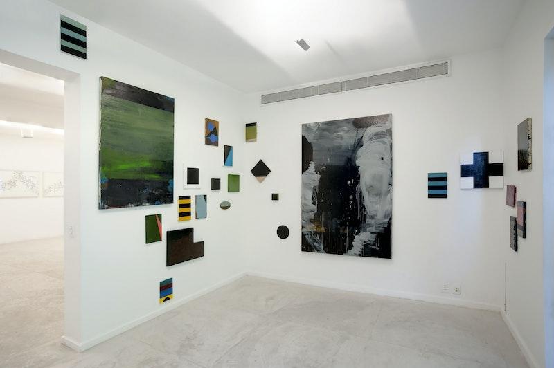 Vista da exposição 'Keep Dripping', 2012