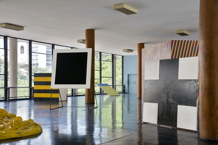 Vista da exposição Palácio,2012