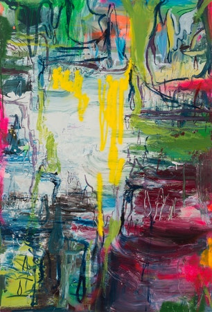 Pintura sem título (A Descoberta de Juan por Haidee), 2016