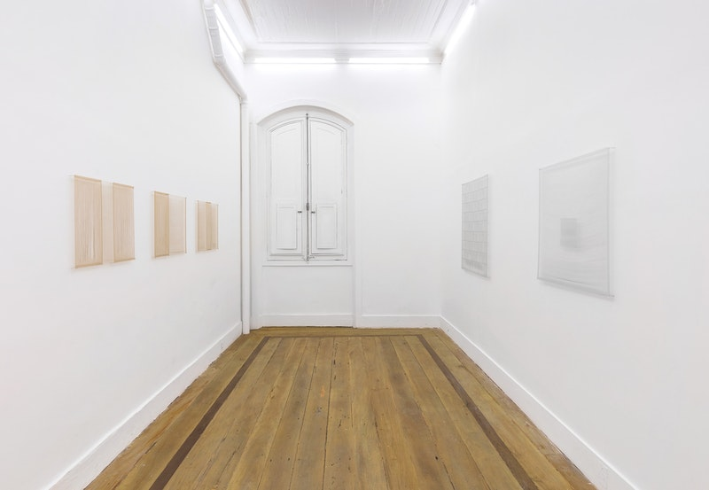 Exhibition view of 'Tecido', 2017