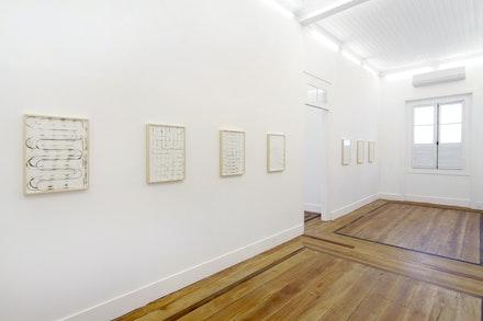 Vista da exposição 'Diário do Capitão', 2016