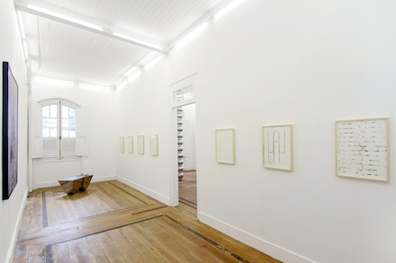 Exhibition view of 'Captain's Diary', 2016