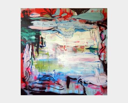 Untitled painting (por bem ou por mal...), 2015