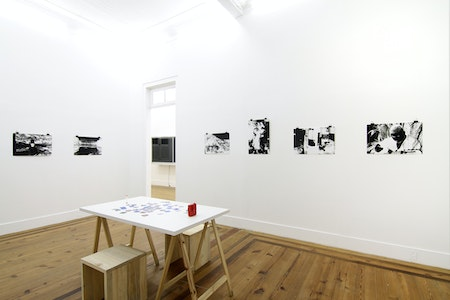view of the exhibition 'Memory-images', 2016