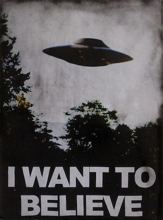 I want to believe, 2016