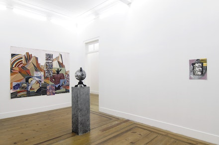 Exhibition view of 'Space Jihad', 2017