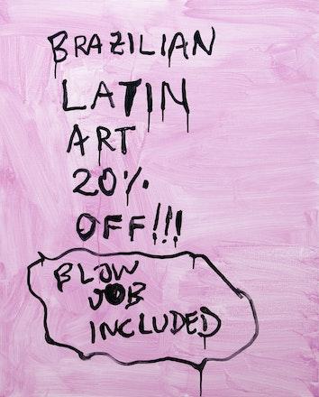 Pintura sem título (Latin Art),2017