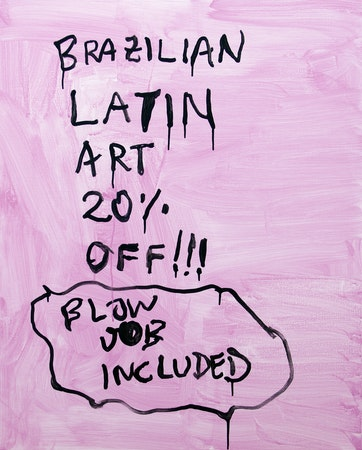 Alvaro Seixas_Pintura sem título (Latin Art)_2017_Acrílica sobre linho_100 x 80 cm