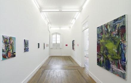 Vista da exposição 'Muito Romântico Tour', 2017