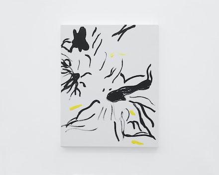 Pintura sem título (Organic Forms), 2017