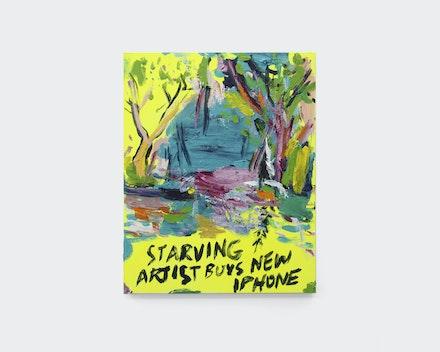 Pintura sem título (Starving Artist), 2017