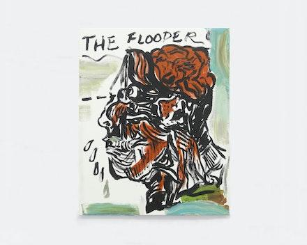 Pintura sem título (The Flooder), 2017