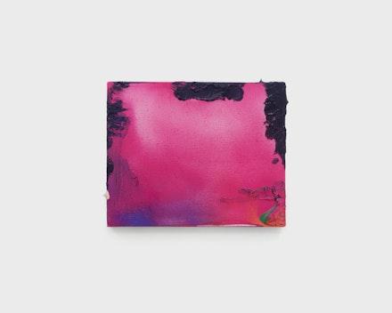 Pintura sem título (Paisagem Neon), 2017