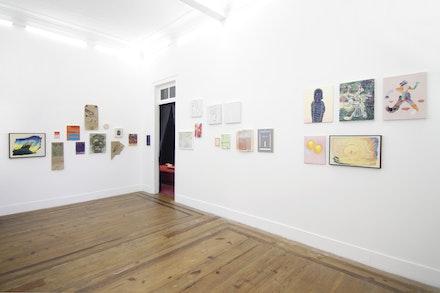 Exhibition view of 'Jardim das delícia com juízo final', 2018