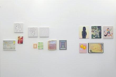 Vista da exposição 'Jardim das delícia com juízo final', 2018