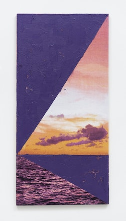 Laissez faire (Purple Sunset), 2012
