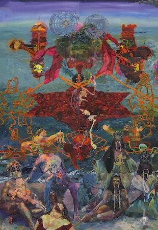 O corte azimutal do mundo e o nascimento da Vênus escrava sob os prantos das donas do Atlântico, 2013
