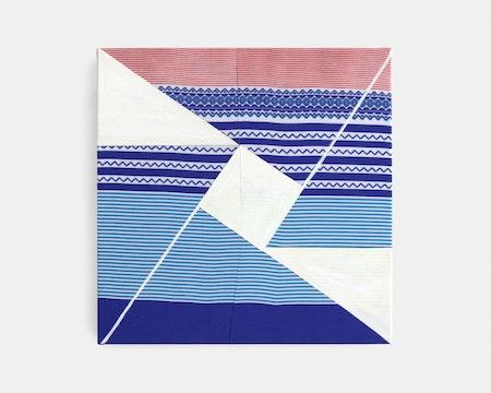 Camila Oliveira Fairclough_LC (Espaço modulado), 2018_acrylic paint on polyester_40 x 40 cm