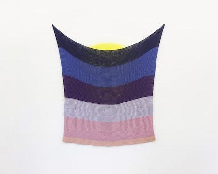 Daniel Albuquerque_Untitled - posto 9_2015_ knitting_160 × 160cm