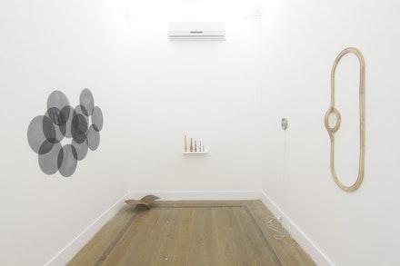 Vista da exposição 'Like thinking', 2018