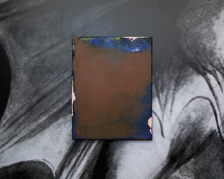 10. Cavalo _ The Importance of the Devil by Alvaro Seixas _ Untitled Painting (Night in the Tavern), 2019 _ acrylic on canvas _ 36 × 28 cm