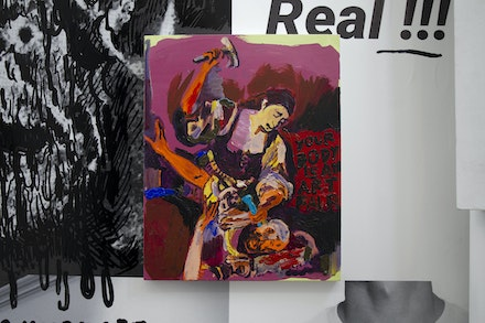 25. Cavalo _ The Importance of the Devil by Alvaro Seixas _ Untitled Painting (Your Body is an ArtFair), 2019 _ acrylic on linen _ 50 × 40 cm