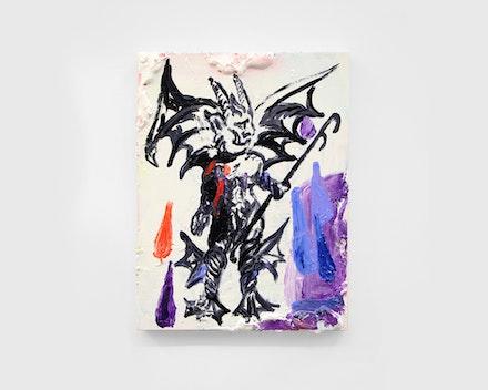 Untitled Painting (Bleeding Devil), 2019
