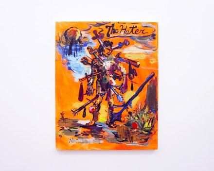 Pintura sem título (The Hater), 2019