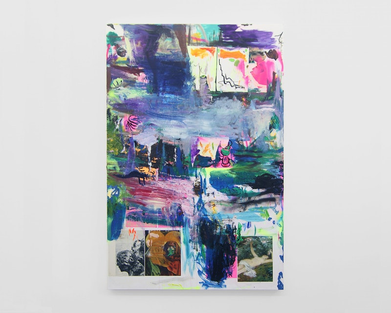 Pintura Sem Título (Romantic Painting), 2019