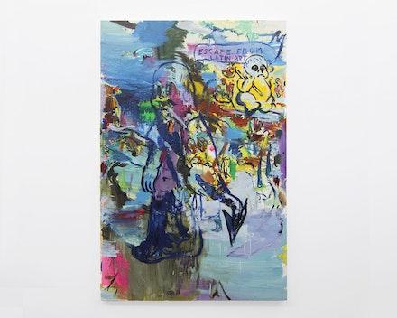 Pintura Sem Título (Latin Art), 2019