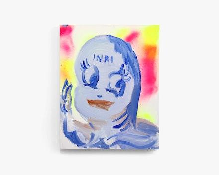 Pintura Sem Título (Little INRI), 2019